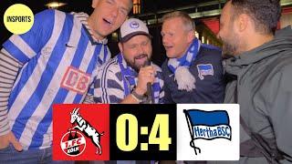 1. FC KÖLN VS HERTHA BSC│KÖLN NICHT MEHR 1. LIGAREIF!