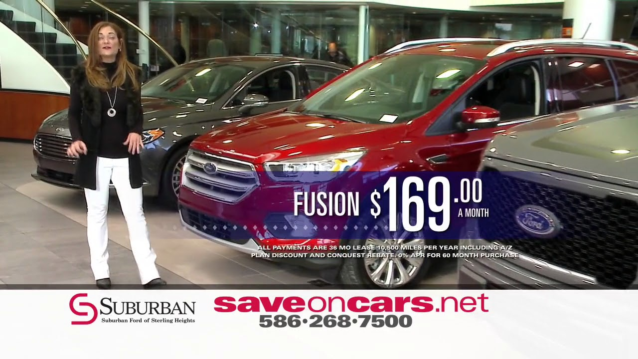 Suburban Ford Of Sterling Heights Auto Show Savings Event Youtube