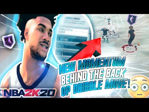 *NEW* FAST MOMENTUM BEHIND THE BACK TUTORIAL! BEST DRIBBLE MOVES IN NBA 2K20! BECOME AN ISO GOD! thumbnail