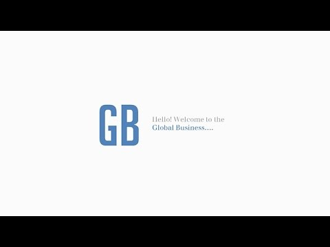 Global Business Power Point Video Demo