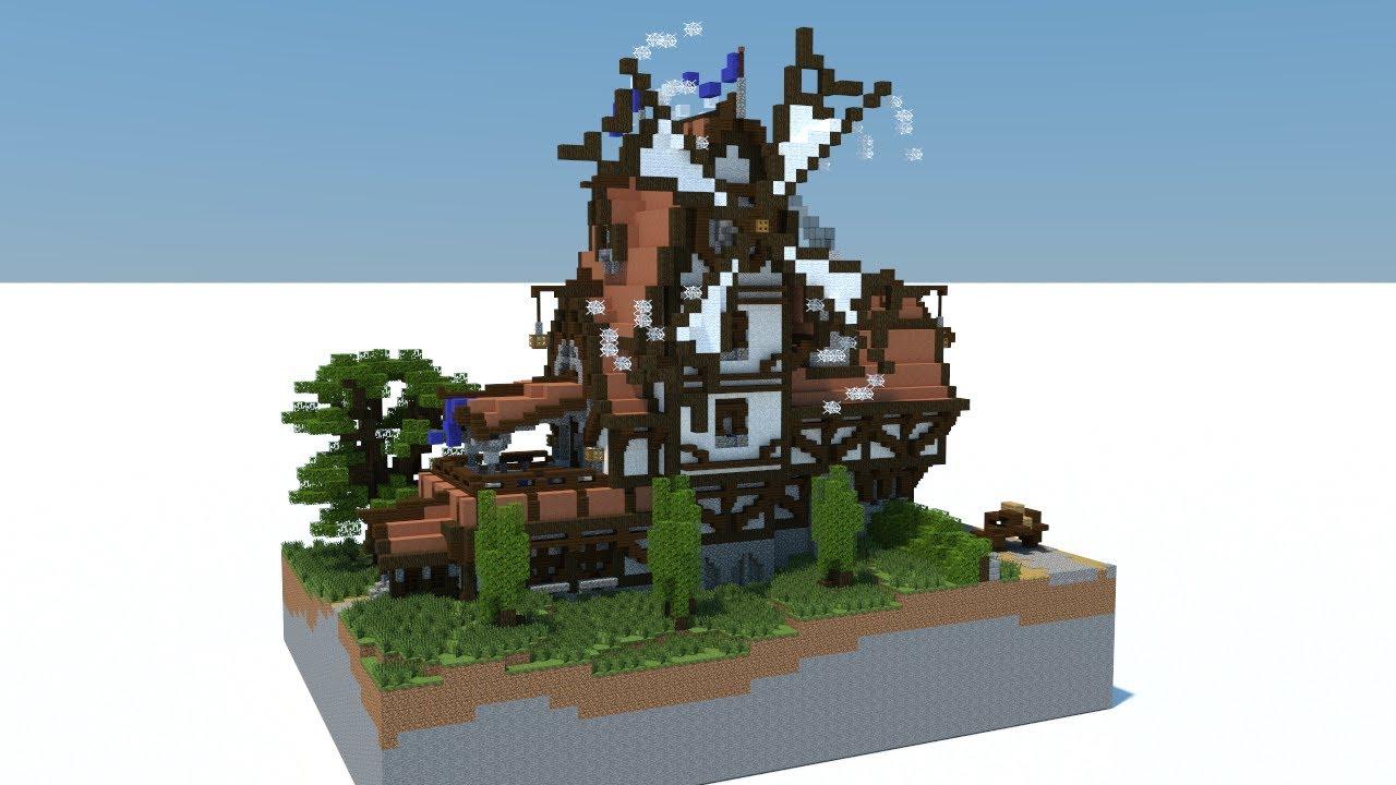 Minecraft Fantasy Windmill