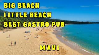 Big Beach Little Beach Pint & Cork Gastro Pub Maui Hawaii.