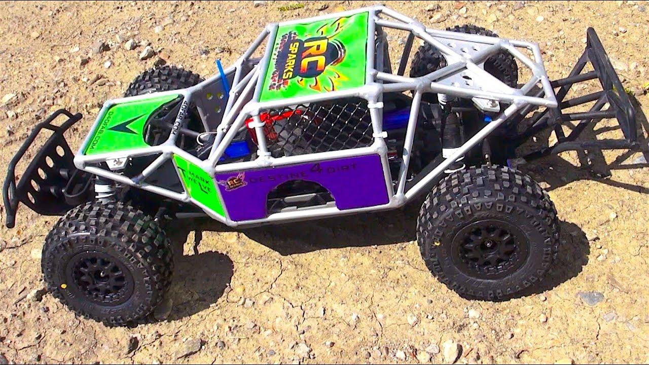 RC ADVENTURES Traxxas Slash 4x4 SPEED TEST w D4DFab MK 12 Cage Durability Test Series 1