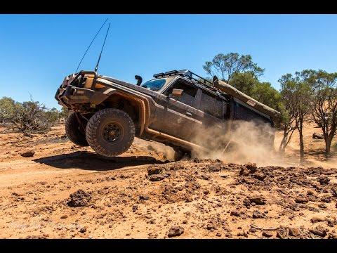 Murchison off-road adventure Australian outback 4x4 video