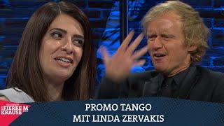 Promo-Tango mit Linda Zervakis