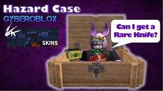 Counter Blox Hazard Case 'Rare Knife Challenge' #15 Log # 79 | Roblox
