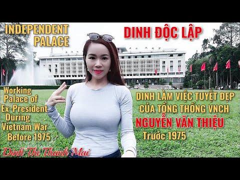 Ngôi Nhà Tuyệt Đẹp của Tổng Thống VNCH Nguyễn Văn Thiệu trước 1975: Reunification Palace, SaiGon,VN