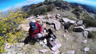 GoPro - New Mexico Organ Mountains Needles Peak 9,000 feet plus+ part 4