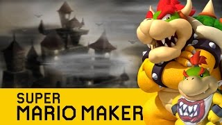 Super Mario Maker : Yoshi's Island : Bowser's Castle