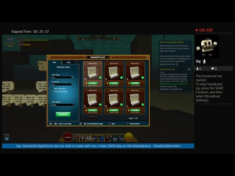Let's Play Trove with DeadGuildenstern - Finishing up Nightmare Gods' bank with friends!