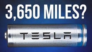 Tesla's Secret 3,650 Mile Range Battery - The Next Gen Revolution