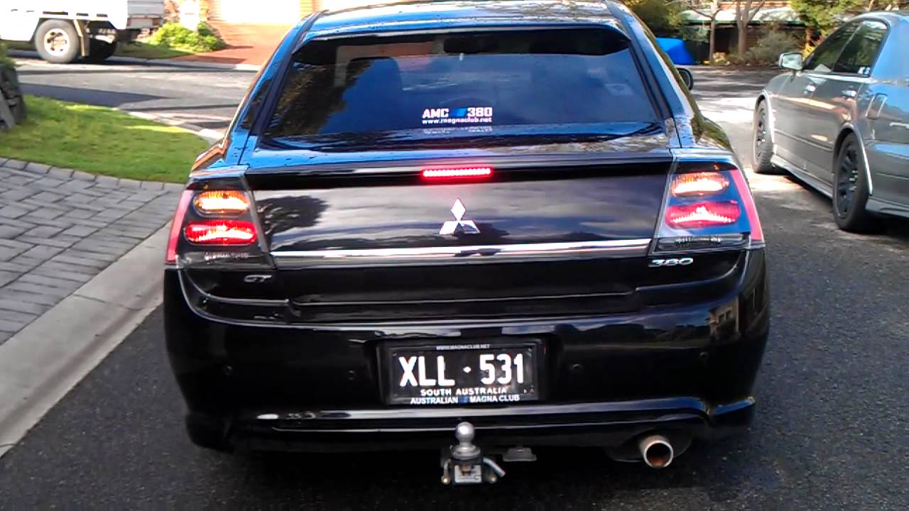 Mitsubishi 380 Gt With Usdm Galant Ralliart Tail Lights Youtube