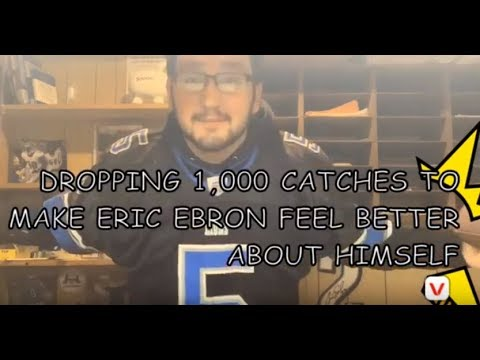 TrevStone- DROPPING 1,000 Catches In A Row To Make Eric Ebron Feel Better