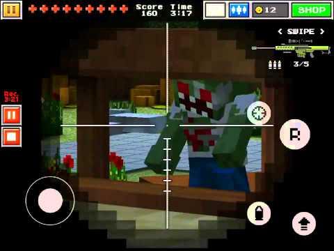 Pixel Gun 3D #3 | COOP Zombie Gameplay | W. MsLingi1 | -TrueKiller71