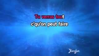 Karaoké Alors regarde (Live) - Patrick Bruel *