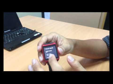 How to upgrade firmware SpeedUp SmartWatch