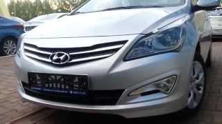 Hyundai Solaris 2014 рестайлинг смотреть