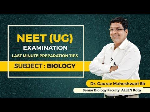last-minute-preparation-tips-for-neet-ug-biology-by-dr.-gaurav-maheshwari-sir- -allen-kota