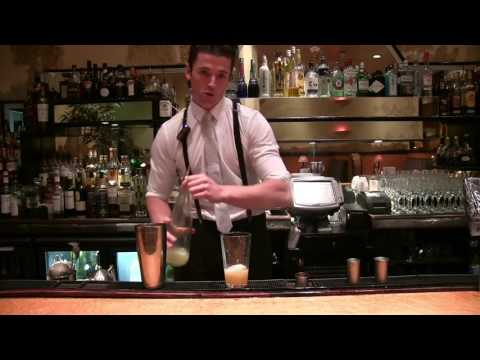 Delicious Father Thyme cocktail demo by Rogano Glasgow