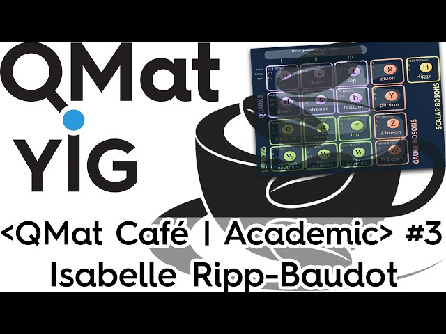 I.Ripp-Baudot - Search for new physics with the Belle II experiment - ⋖QMat Cafe | Academic⋗ #3.2