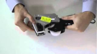 How to Change Ink Roller in Towa Price Gun Samurai GS, 1-Line