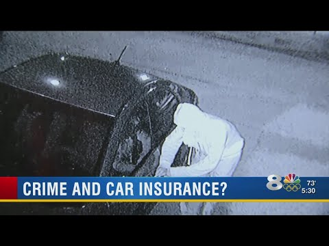 Crime And Car Insurance?