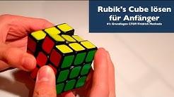 3x3x3 Rubik's Cube lösen für Anfänger [Tutorial]