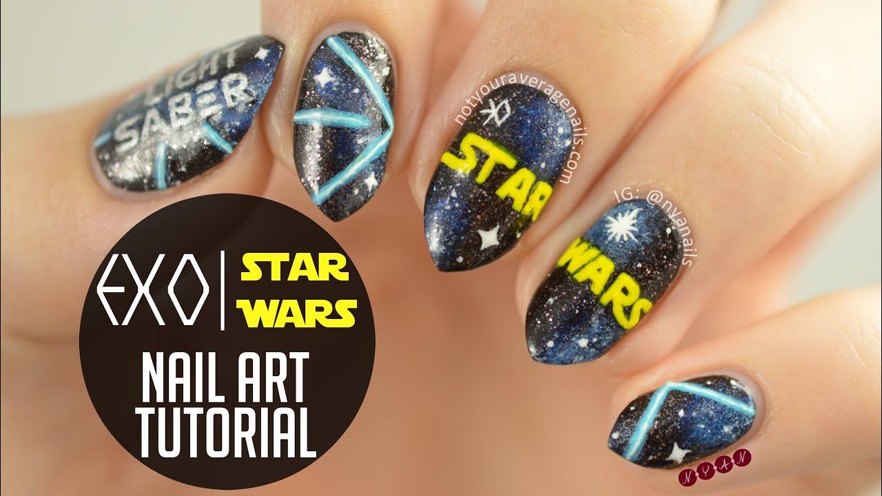 Star Wars Acrylic Nails Best Nail Designs 2018
