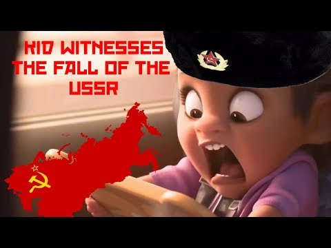 Communist Kid Witnesses the Collapse of the Soviet Union