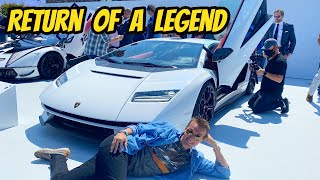 homepage tile video photo for Selling everything to buy the new Lamborghini Countach? ($2.6 Million Supercar Returns!)