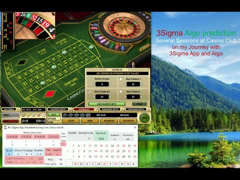 RfL 3Sigma App | Casino Club Sessions #11-15 Newest Online Roulette Strategies | Roulette Systems