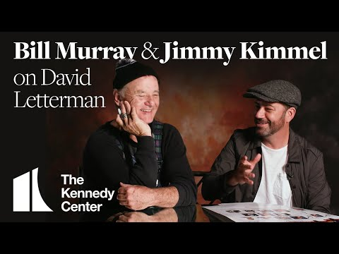 Jimmy Kimmel and Bill Murray on David Letterman's Specialness