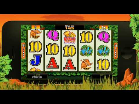 Bush Telegraph Mobile Slot Game