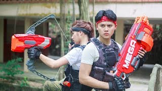 LTT Nerf War : SEAL X Warriors Nerf Guns Fight Attack Criminal Group Rescue Captain Seal