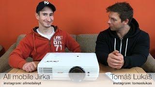 Projektor Acer H7850 recenze a zkušenosti