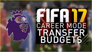 FIFA 17 Career Mode | Premier League Transfer Budgets and Expectations #FIFA17CaptureEvent