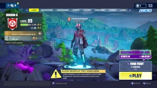 FORTNITE LIVE STREAM (PS4) FOOD FIGHT :Game Mode
