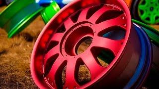 Как правильно красить диски?(Пескоструйная обработка и полимерка в Новосибирске http://stoverst.com (скидка по коду