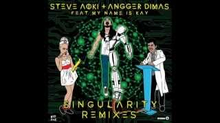 Steve Aoki Angger Dimas feat My Name Is Kay-Singularity (Oliver Twizt Trap) REMIX NEW MAY 2013