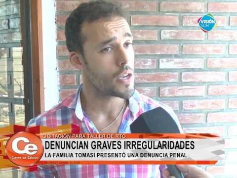 VILLA CONSTITUCIÓN LICITACIÓN RTO PLAGADA DE IRREGULARIDADES