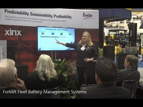 EnerSys Speaker Series_ProMat 2017 - Forklift Fleet Battery Management Systems