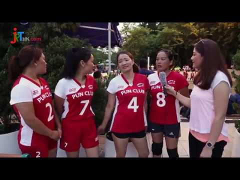 Nepalese Men & Women's Volleyball Players Interview @ Hong Kong