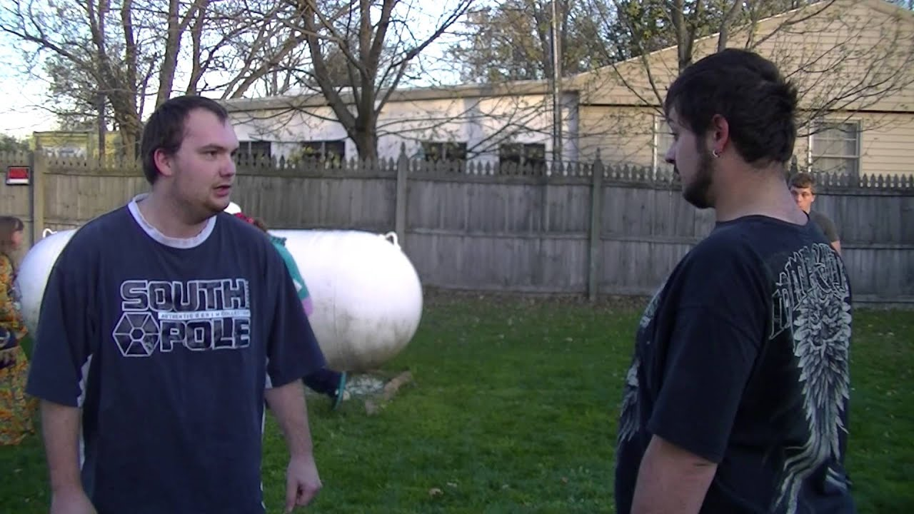 matt reik vs travis yeary last man standing fight backyard