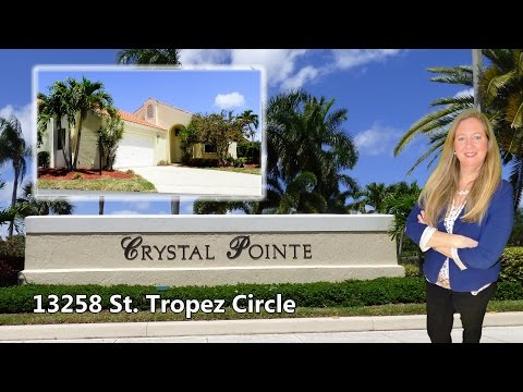 Crystal Pointe | 13258 St. Tropez Circle - Palm Beach Gardens
