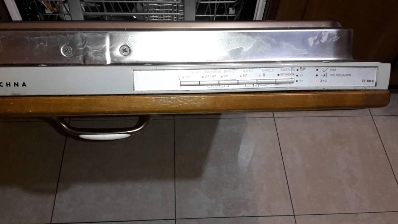 Lavastoviglie electrolux rex tt80e panoramica youtube - Mobile per lavastoviglie da incasso ...