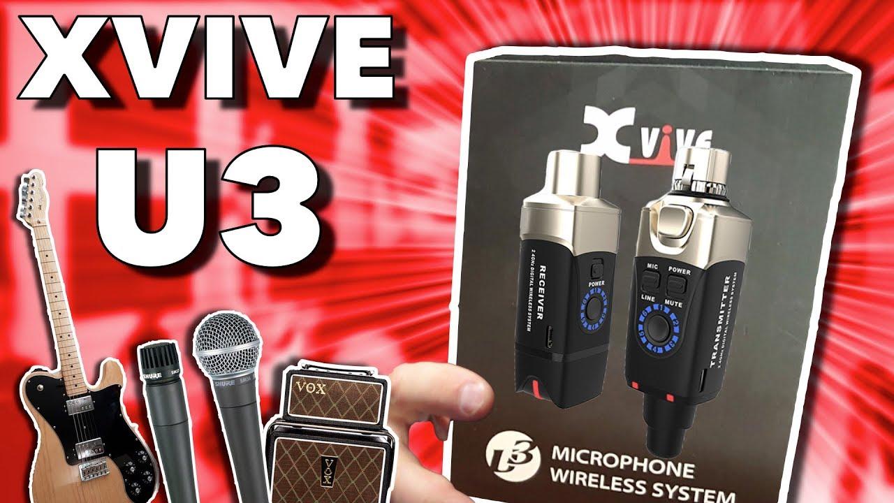 xvive u3 microphone wireless system demo youtube. Black Bedroom Furniture Sets. Home Design Ideas