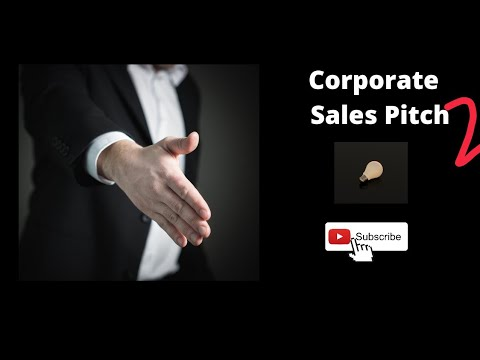 Corporate Sales Pitch -2