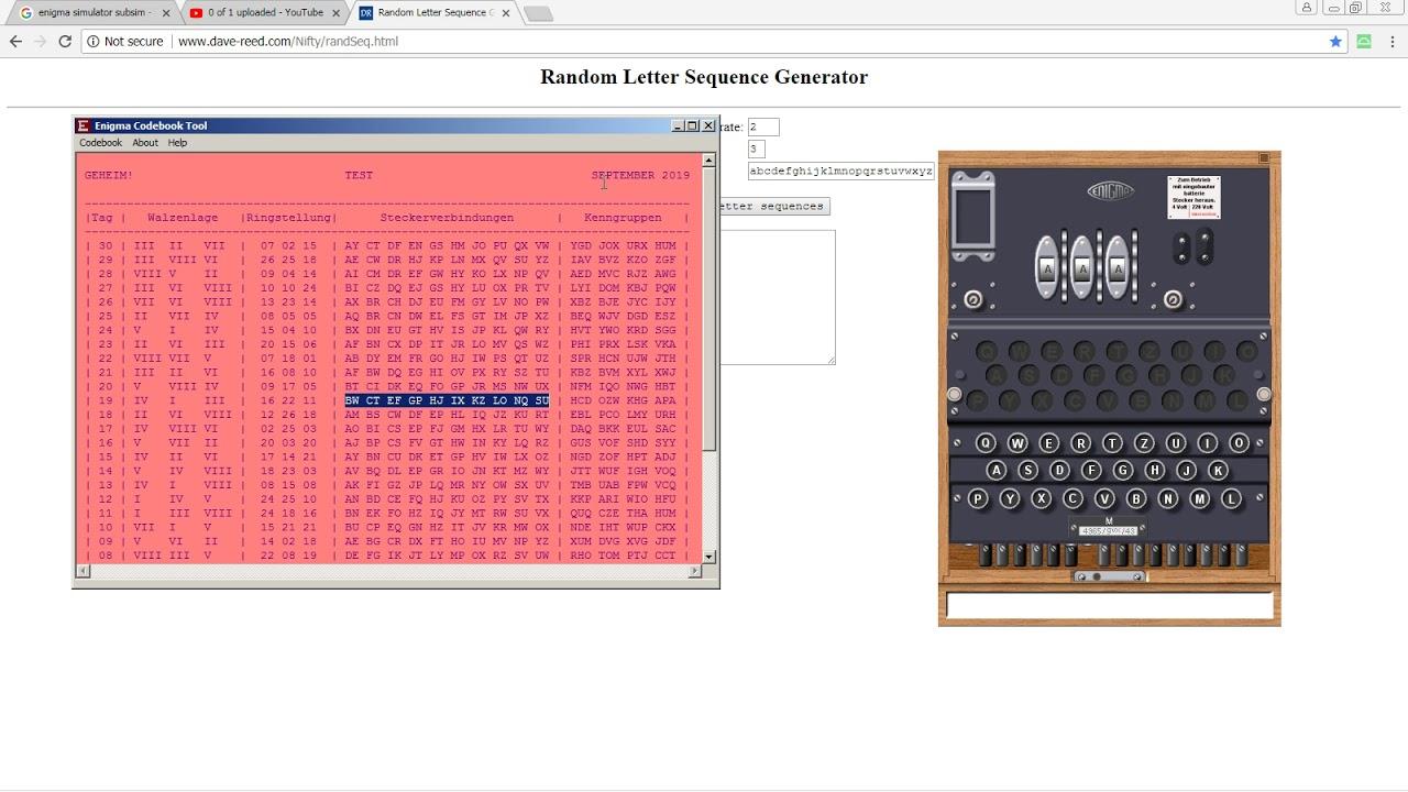 Enigma Simulator