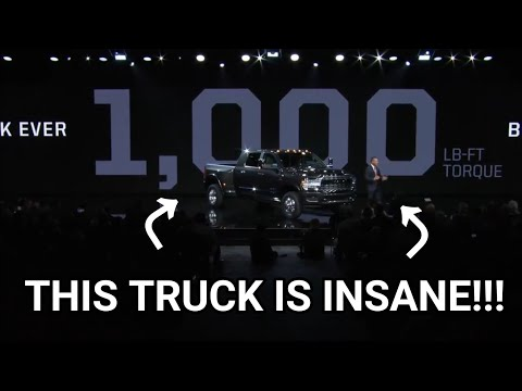 Here's why FORD and CHEVY can't COMPETE!!(2019 Ram Heavy Duty)
