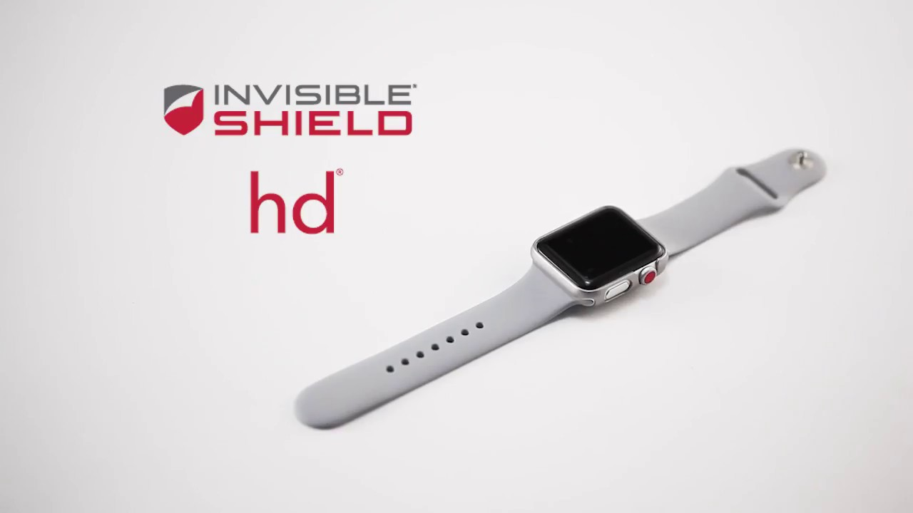 pretty nice 763b5 d98b6 How to Install HD—Apple Watch 3—InvisibleShield